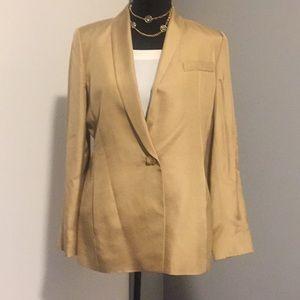 Silk/wool Dana Buchman silk, wool blazer